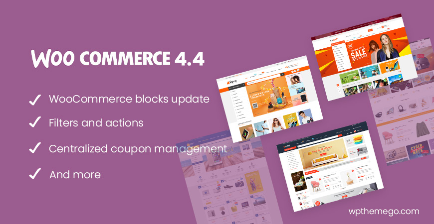 WooCommerce 4.4 new features