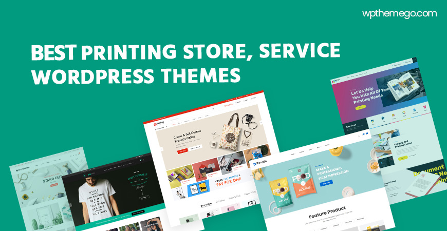 Best Printing Store WooCommerce WordPress Themes 2020