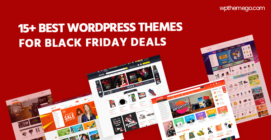 15+ Best Free & Premium WordPress Themes for Black Friday Deals 2020