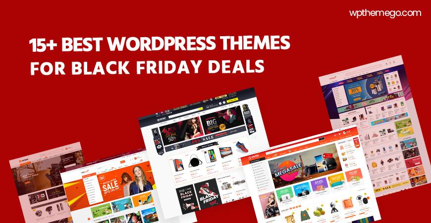 15+ Best Free & Premium WordPress Themes for Black Friday Deals 2020