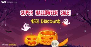 [Halloween Sale] 45% OFF On Best WordPress Themes 2020