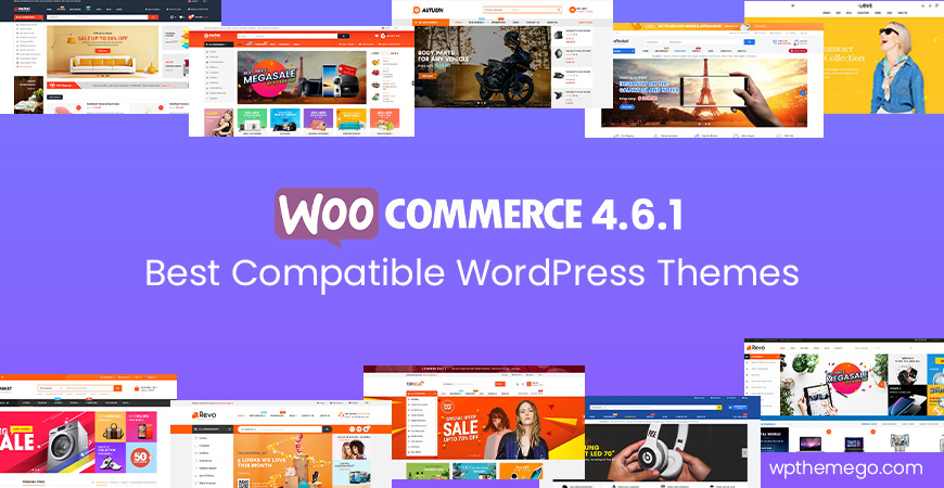WooCommerce 4.6.1 Themes - Top Best Recommended Items!