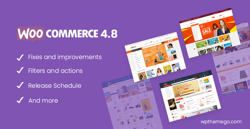WooCommerce 4.8 New Features & Release Schedule
