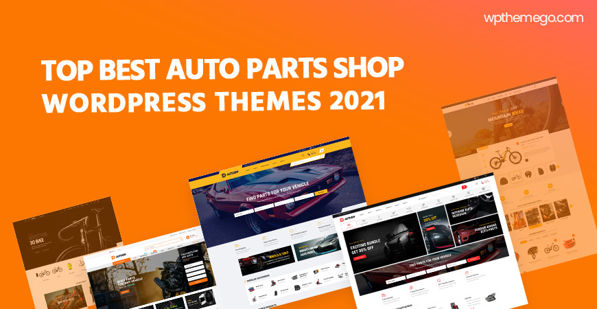 10+ Best Auto Parts Shop WordPress Themes 2021