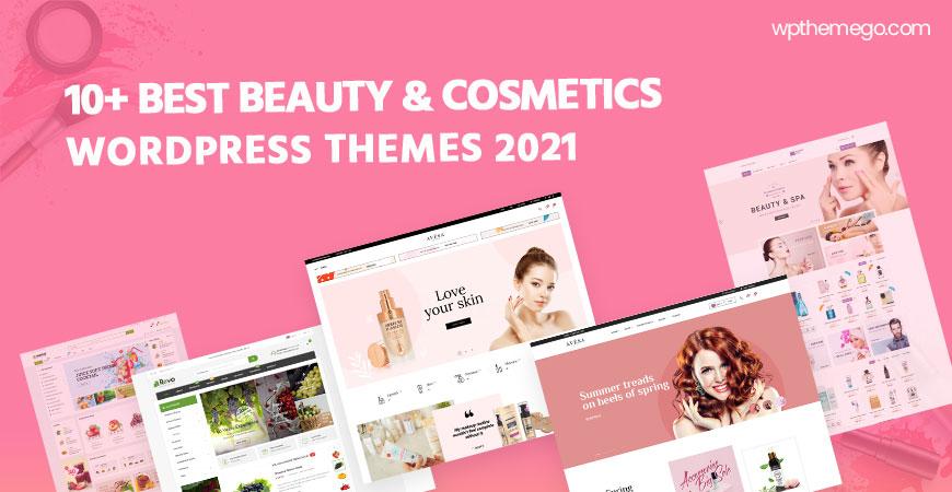 10+ Best Cosmetics Store WooCommerce WordPress Themes 2021