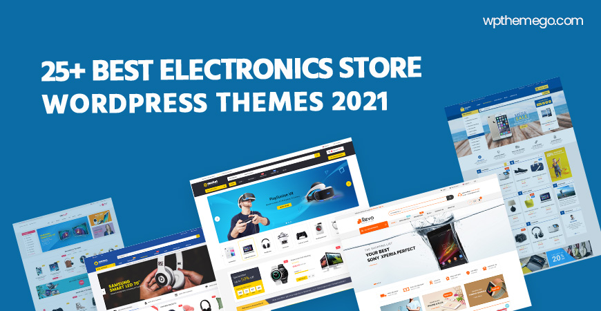 20+ Best Electronics Store WordPress Themes 2021