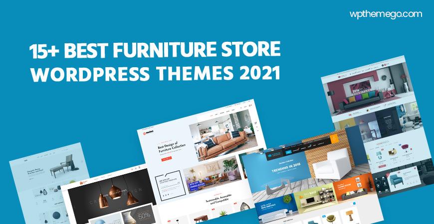 15+ Best Free & Premium Furniture Store WordPress Themes 2021