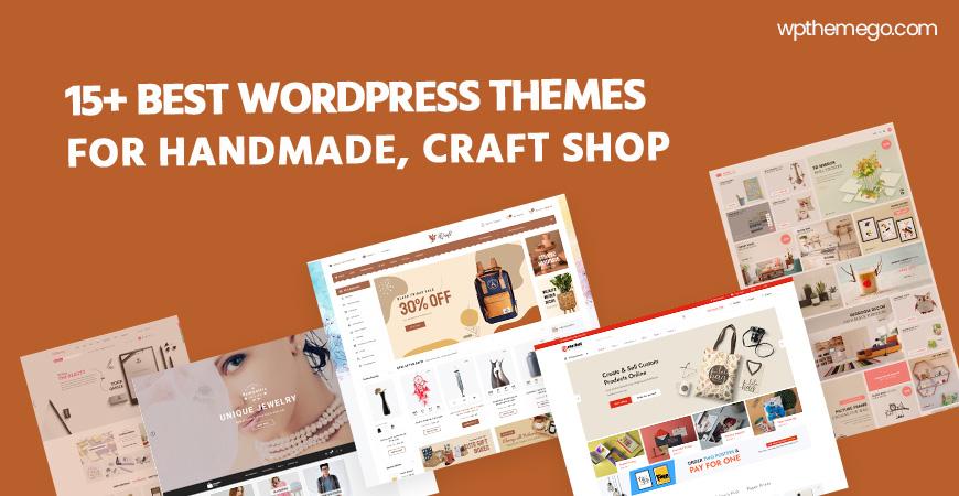 15+ Best Free & Premium Handmade, Craft WordPress Themes