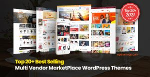 20+ Best Multi-Vendor MarketPlace WordPress Themes 2021