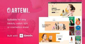 [NEW THEME] Artemi - Cosmetics Store Elementor WooCommerce WordPress Theme