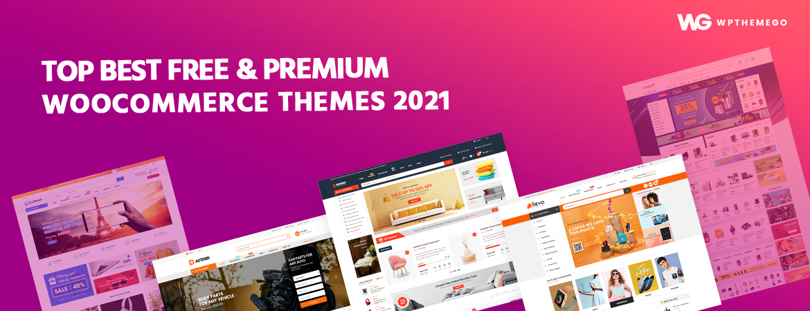 Best Free & Premium WooCommerce WordPress Themes 2021