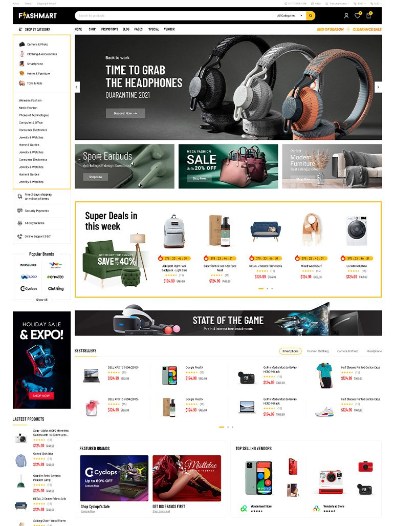 FlashMart - Multipurpose Elementor WooCommerce WordPress Theme