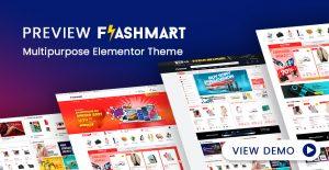 [THEME PREVIEW] FlashMart - Multipurpose Elementor WooCommerce WordPress Theme