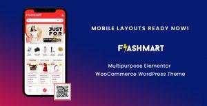 Mobile Layout Ready Now in FlashMart - Multipurpose Elementor WooCommerce WordPress Theme