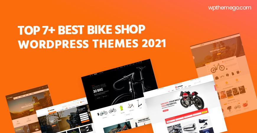7+ Best Bike Shop WooCommerce WordPress Themes 2021