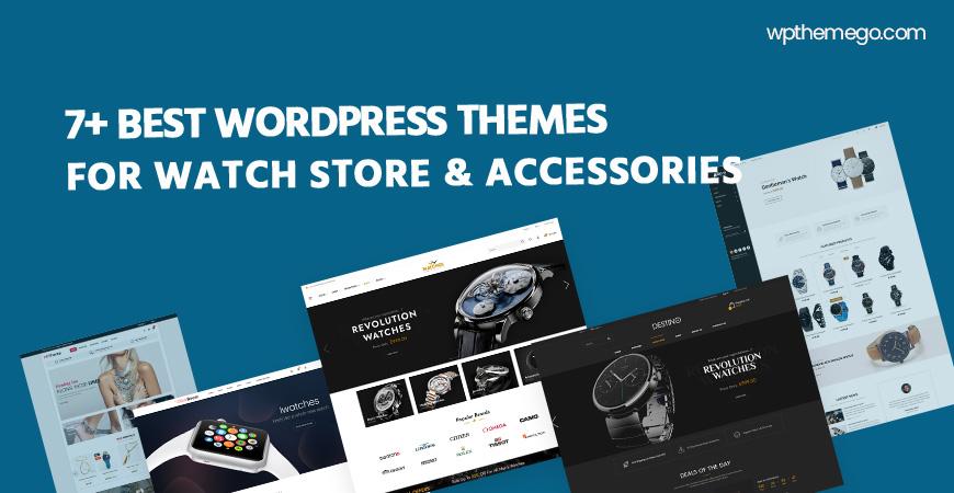 7+ Best Free & Premium Watch Store & Accessories WordPress Themes 2021