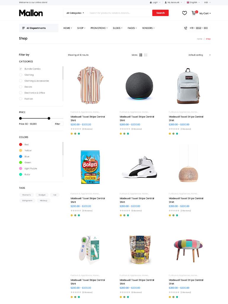 MallOn - Multipurpose Elementor WooCommerce WordPress Theme