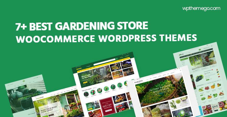 7+ Best Gardening Store WooCommerce WordPress Themes 2021
