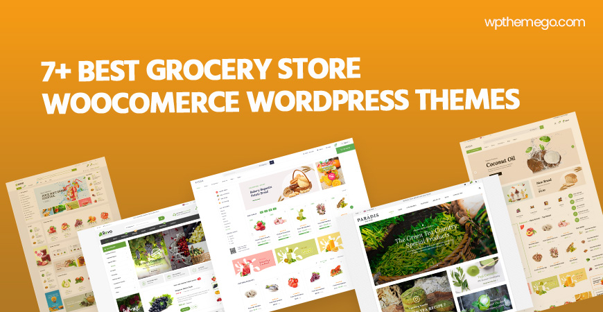7+ Best Grocery Store WooCommerce WordPress Themes 2021