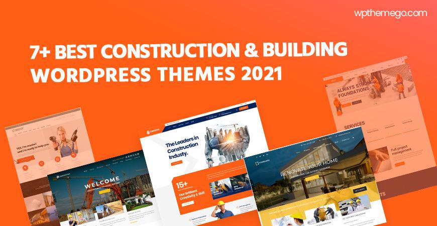 7+ Best Construction & Building WordPress Themes 2021
