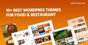 10+ Best Food & Restaurant WordPress Themes 2021