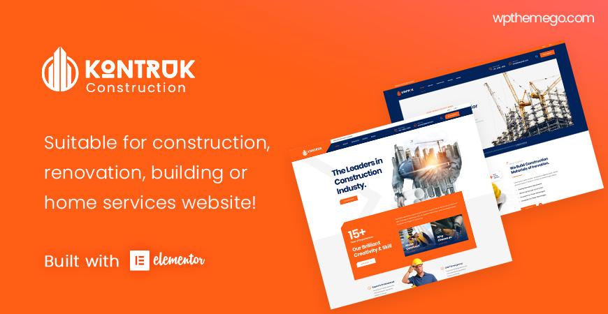 [PREVIEW] KonTruk - Construction & Building Elementor WordPress Theme