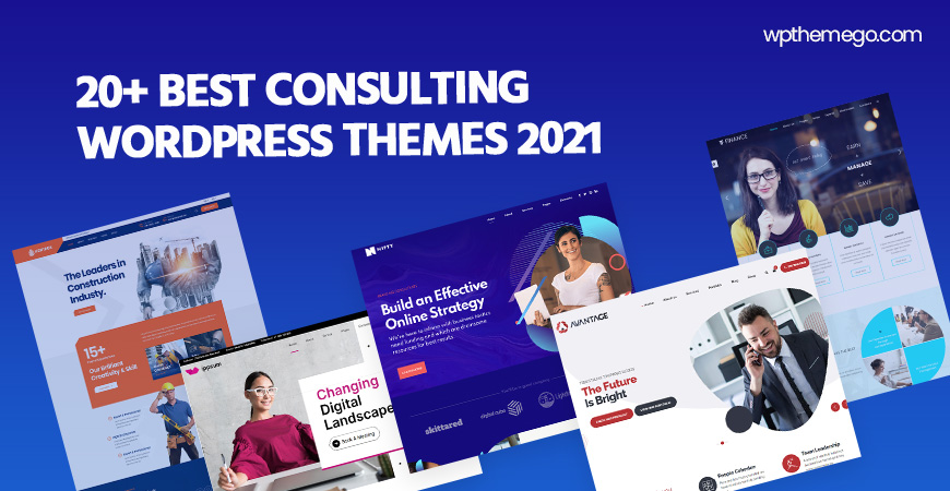 20+ Best Consulting WordPress Themes 2021