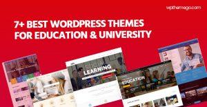 7+ Best Education, University WordPress Themes 2021