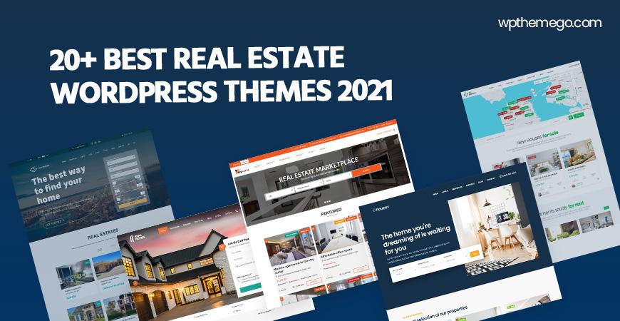 20+ Best Real Estate WordPress Themes 2021