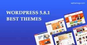 WordPress 5.8.1 Themes – Top Best Recommended Items!