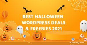 Best Halloween WordPress Deals, Discounts, Coupon Codes and Freebies 2021